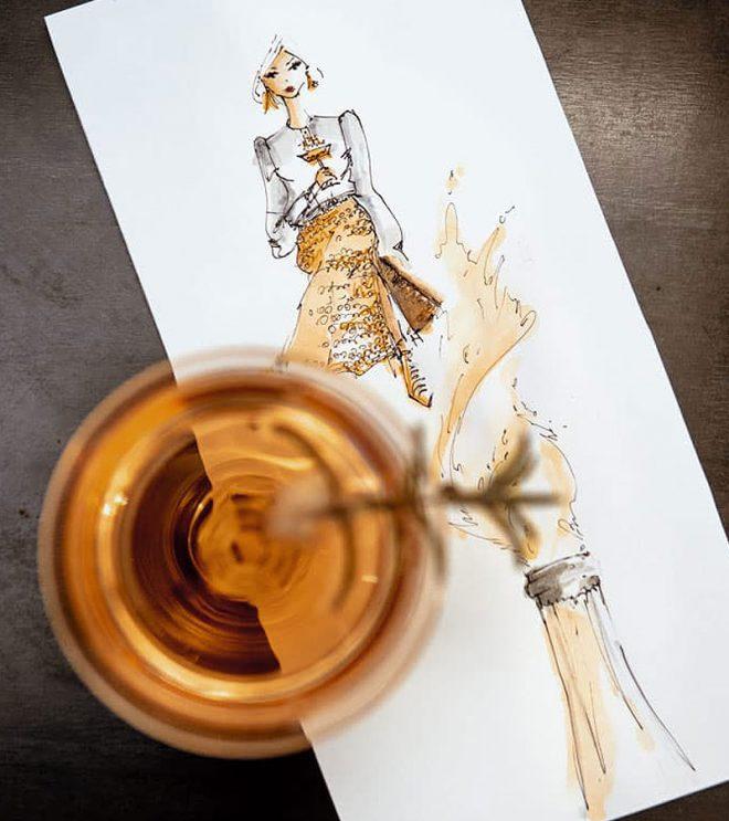 Illustration der Illustratorin Nadja König von StiftScherePapier