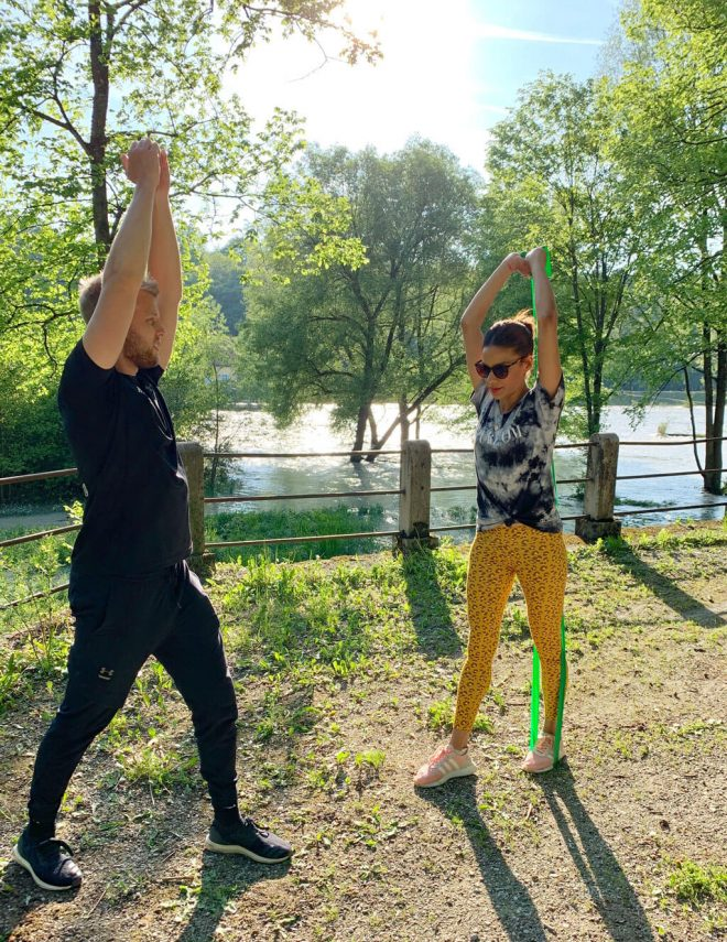 Mama Fitness München mit Christian Dries
