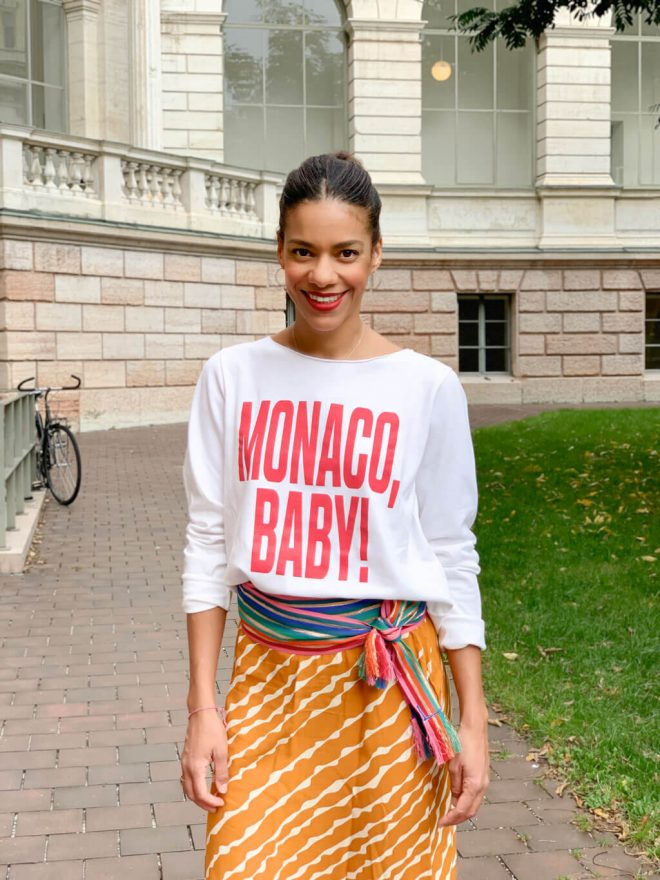 Monaco Baby Sweater JUVIA und BUNTE