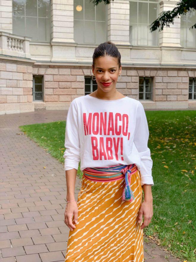 Monaco Baby Statement Sweater von JUVIA und Bunte