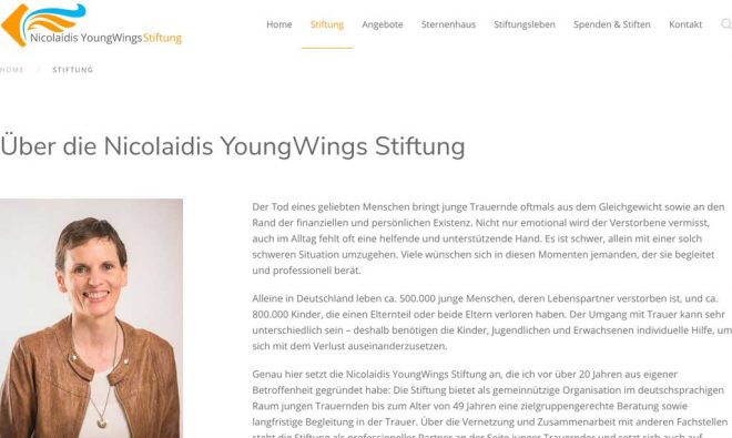 Nicolaidis Young Wings Stiftung