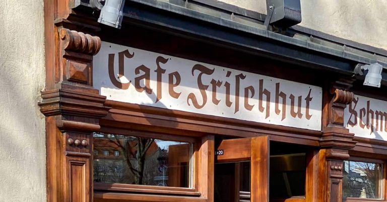 Cafe Frischhut ist ein tolles Café in München