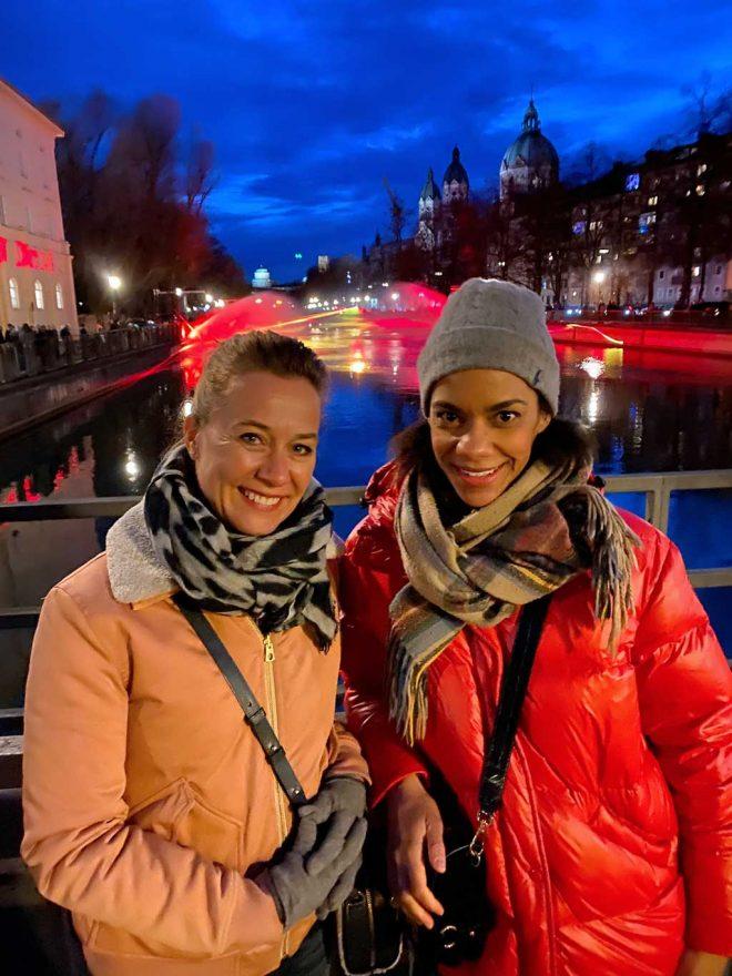 Astrid Piskora und Claire Nizeyimana Frauen verbinden Messe München
