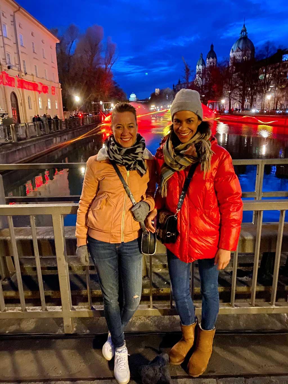 Burning River Isar München
