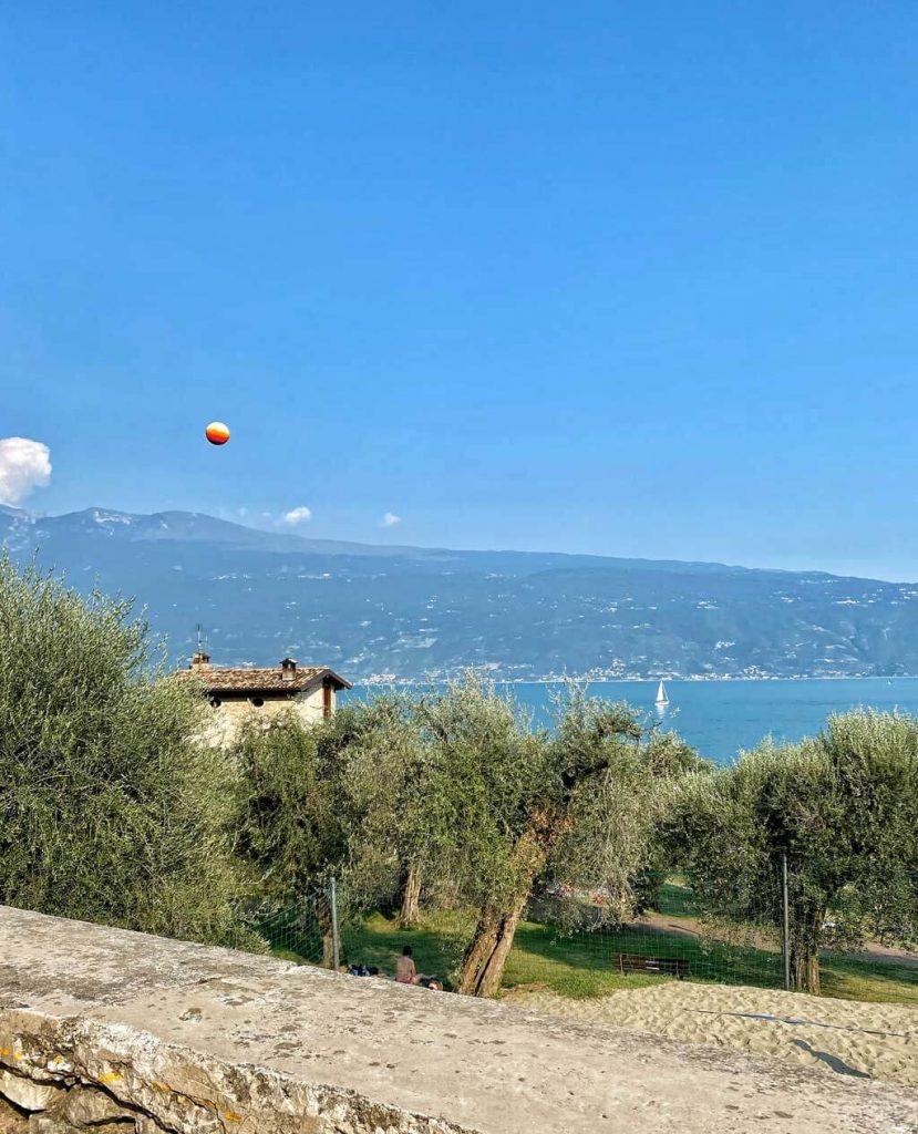 Fontanelle Strandbad Gargnano am Gardasee