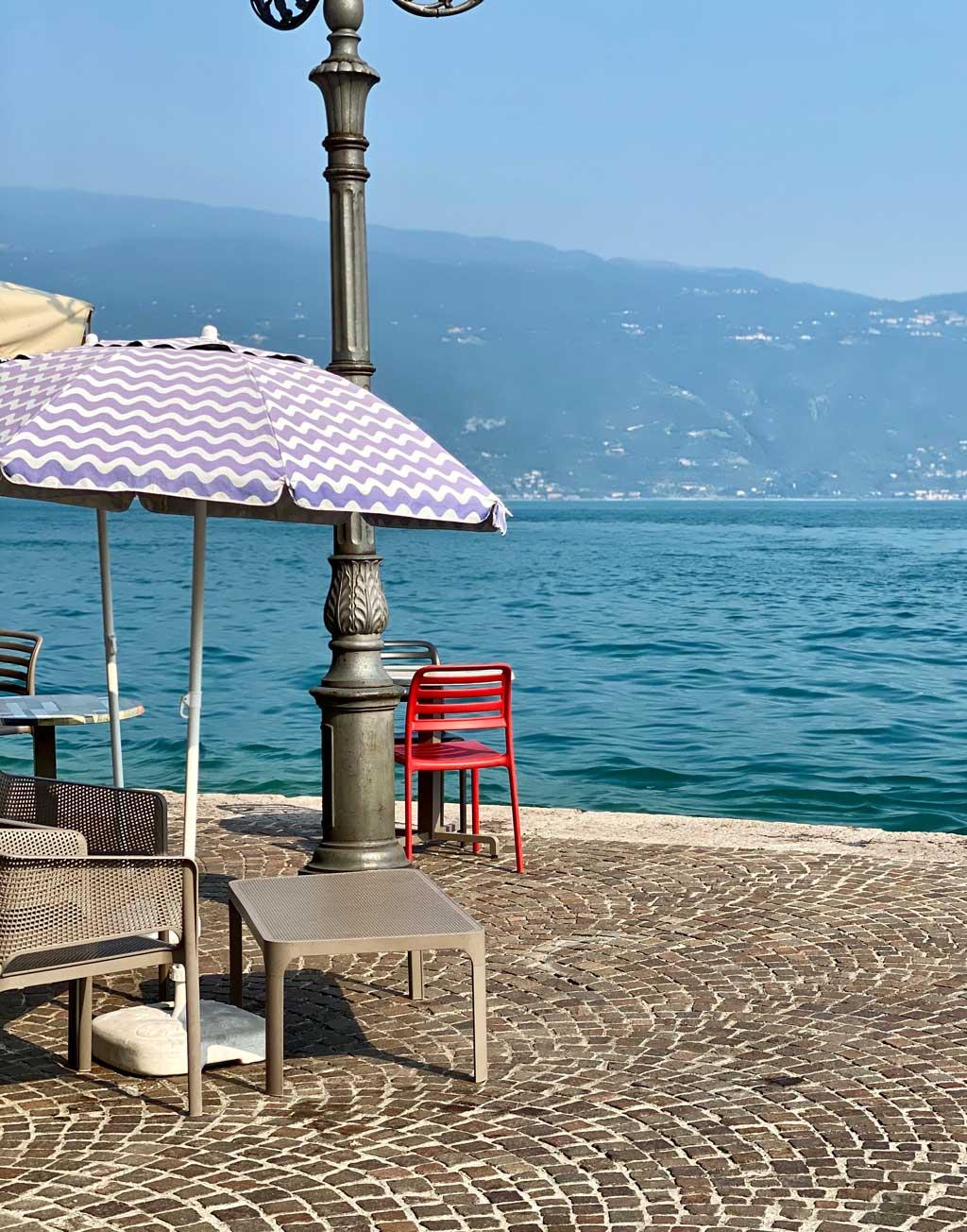 Eis essen Gardasee Gargnano