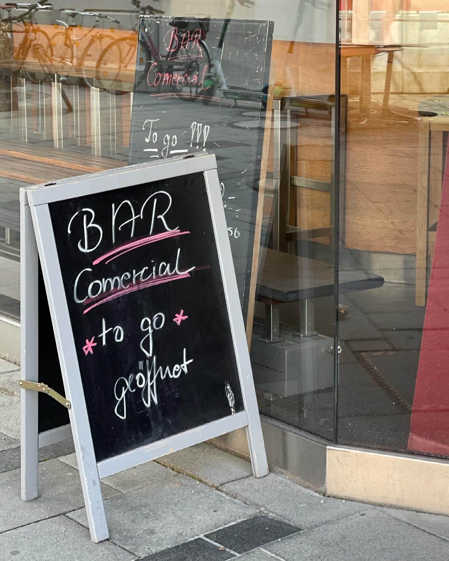 Comercial München Öffnungszeiten Corona
